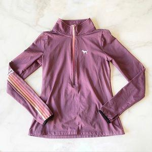 Victoria's Secret Pink 3/4 Zip Jacket